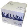 Mail Lite White & Gold Bags